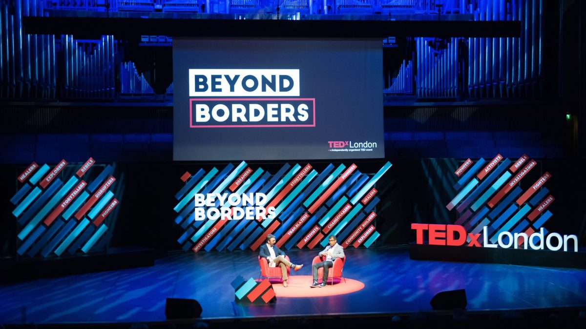 Oxfam CEO Danny in conversation at Beyond Borders