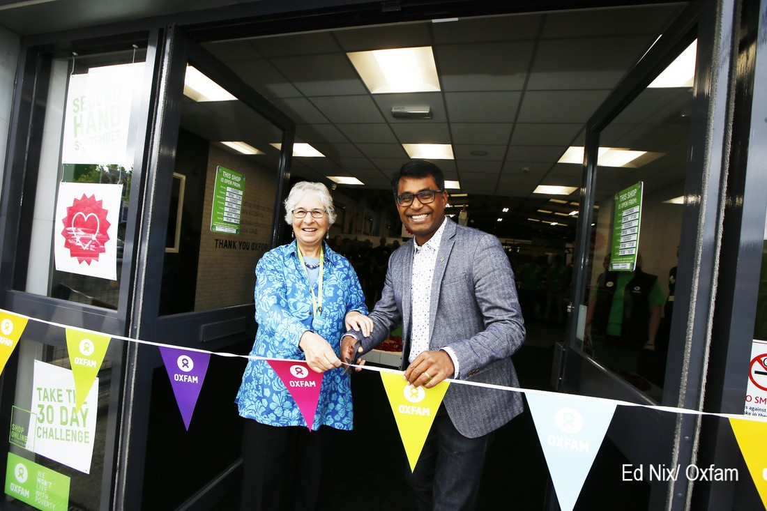 Oxfam's first superstore opens in Oxford