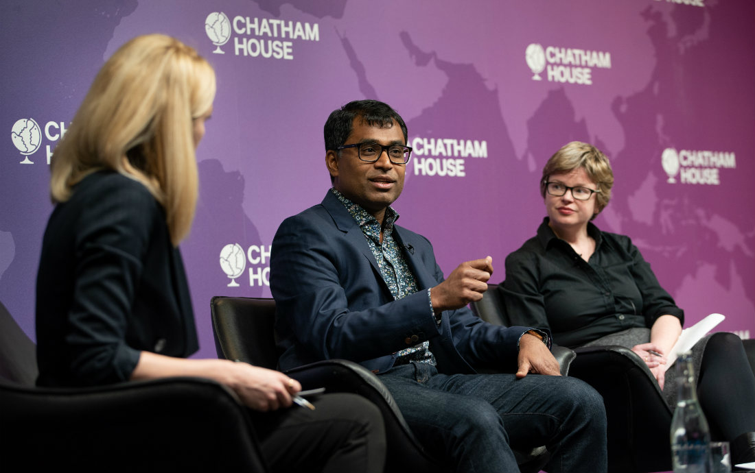 CHATHAM HOUSE DEBATE – LEAVING NO ONE BEHIND IN THE DIGITAL REVOLUTION